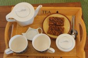 Darjeeling and Chocolate Flapjacks