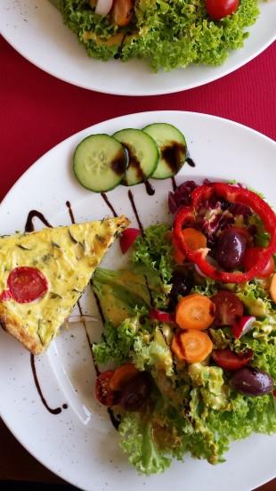 Quiche im Café Innleben
